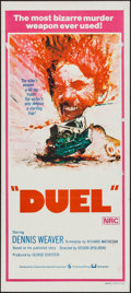 "Movie Posters:Action, Duel (Universal, 1972). Australian Daybill (13"" X 30""). Action....."