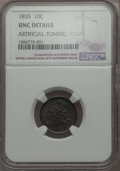 Bust Dimes: , 1835 10C -- Artificial Toning -- Details NGC. UNC. NGC Census:(2/248). PCGS Population: (9/186). CDN: $750 Whsle. Bid for ...