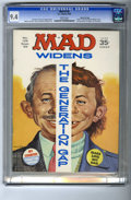 Magazines:Mad, Mad #129 Gaines File pedigree (EC, 1969) CGC NM 9.4 White pages. Norman Mingo gives his take on the generation gap of the la...