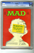Magazines:Mad, Mad #130 Gaines File pedigree (EC, 1969) CGC NM 9.4 White pages.Angelo Torres begins as regular artist. Mort Drucker, Dave ...