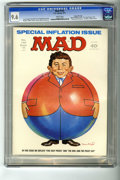 """Magazines:Mad, Mad #145 Gaines File pedigree (EC, 1971) CGC NM+ 9.6 White pages. """"Five Easy Pieces"""" and """"Owl and the Pussycat"""" parodies. In..."""