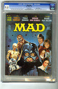 Magazines:Mad, Mad #196 Gaines File pedigree (EC, 1978) CGC VF/NM 9.0 Off-whitepages. Jack Ricard cover art featuring Alfred E. Neuman tak...