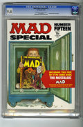 Magazines:Mad, Mad Special #15 (EC, 1974) CGC NM 9.4 Off-white to white pages.Includes the comic book Nostalgic Mad #3 (which most buy...