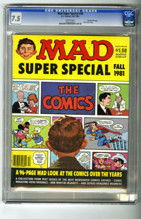 Mad Special #36 (EC, 1981) CGC VF- 7.5 White pages. Mad makes fun of the comics. Has 96 pages of comic book and comic st...