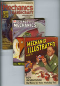 Magazines:Miscellaneous, Mechanix Illustrated and other Magazines Group of 17 (Various, 1939-53) Condition: Average GD/VG. Includes copies of Scien... (Total: 17 Comic Books)