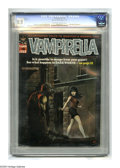 Magazines:Horror, Vampirella #6 (Warren, 1970) CGC VF 8.0 Off-white to white pages. Ken Kelly cover. Jerry Grandenetti, Jack Sparling, Mike Ro...