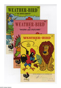 Silver Age (1956-1969):Humor, Weather-Bird Group (Western, 1958-62) Condition: Average VF-.Includes Weather-Bird #1, 2, 3, 4, 5, 6, 7, 8, 9, 12, 13, ...(Total: 12)