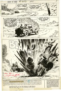 Original Comic Art:Splash Pages, Russ Heath - Our Army at War #262, page 1 Original Art (DC, 1973).The last leg of Rock's return to Easy Co. is interrupted ...