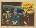 "Movie Posters:Crime, Brother Orchid (Warner Brothers, 1940). Lobby Card (11"" X 14""). Thefilm that marked the spiritual end of Warner Brothers' g..."