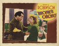 """Movie Posters:Crime, Brother Orchid (Warner Brothers, 1940). Lobby Card (11"""" X 14"""").Edward G. Robinson is a gangster who reforms his ways and jo..."""