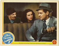 """Comrade X (MGM, 1940). Lobby Card (11"""" X 14""""). Hedy Lamarr and Clark Gable star in this clever comedy about a..."""