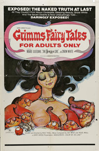 "Grimm's Fairy Tales for Adults (Cinemation Industries, 1969). One Sheet (27"" X 41""). The Brothers Grimm's famo..."