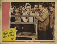 "Hers to Hold (Universal, 1943). Lobby Cards (2) (11"" X 14""). Penny Craig (Deanna Durbin) has finally found the..."