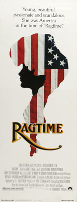 """Ragtime (Paramount, 1981). Insert (14"""" X 36""""). E. L. Doctorow's crazy quilt of characters and events from the..."""