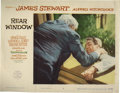 "Movie Posters:Mystery, Rear Window (Paramount, 1954). Lobby Card (11"" X 14""). One ofAlfred Hitchcock's best films takes the subject of voyeurism t..."