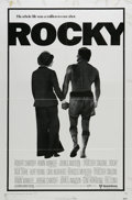 "Movie Posters:Sports, Rocky (United Artists, 1977). One Sheet (27"" X 41""). Sylvester Stallone's breakthrough hit about the chronic underdog who be..."
