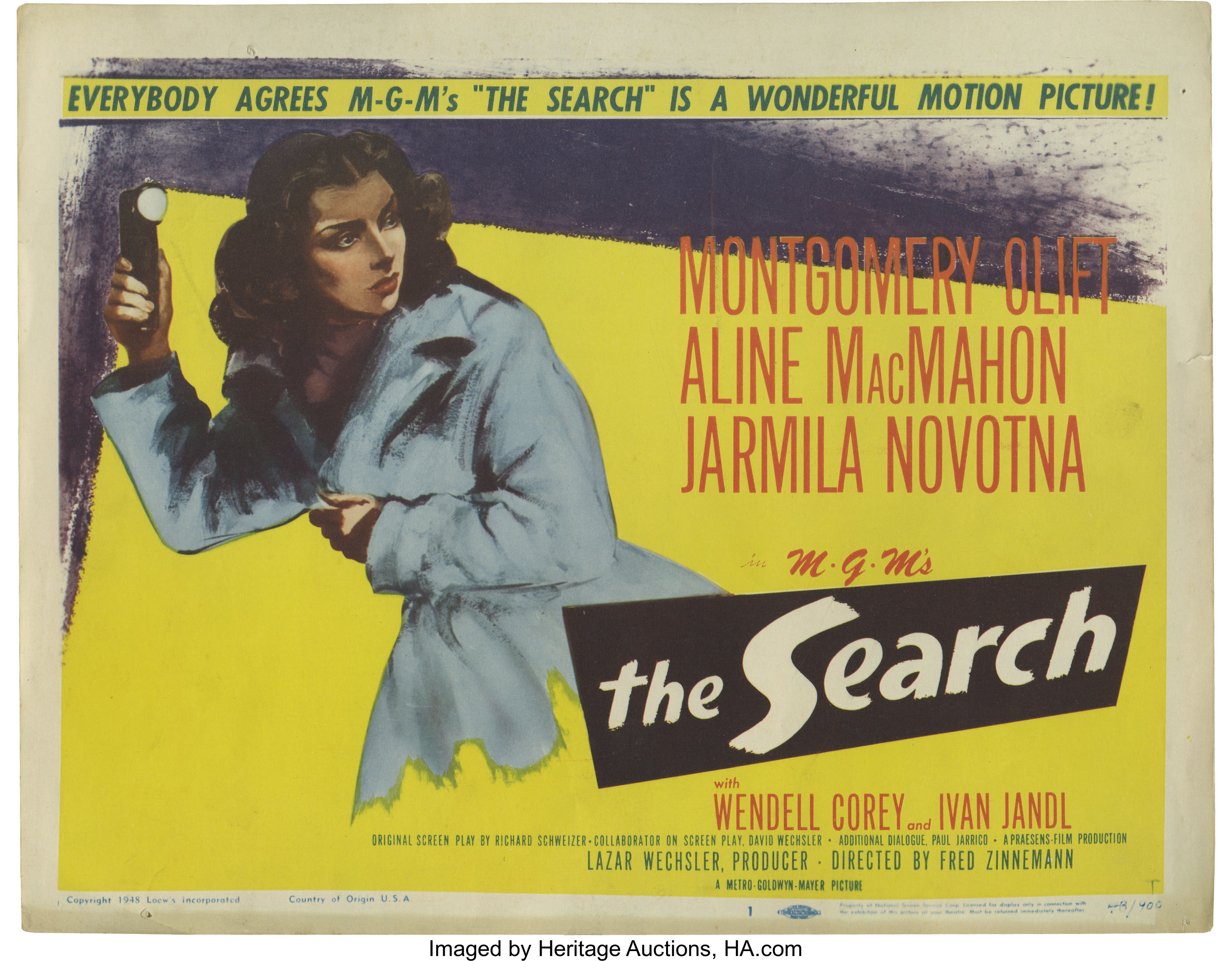 The Search (1948) Drama, War