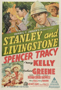 "Movie Posters:Adventure, Stanley and Livingstone (20th Century Fox, 1939). Australian OneSheet (27"" X 41""). Spencer Tracy stars in this tale of the ..."