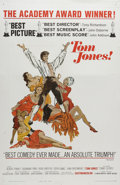 "Movie Posters:Academy Award Winner, Tom Jones (United Artists, 1963). One Sheet (27"" X 41""). Orphan TomJones (Albert Finney) is taken in by an English gentlema..."