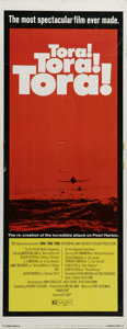 "Movie Posters:War, Tora, Tora, Tora (20th Century Fox, 1970). Insert (14"" X 36"").Heralded as on of the greatest war epics of all time, ""Tora, ..."