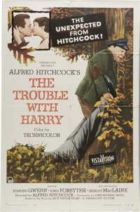 """The Trouble With Harry (Paramount, 1955). One Sheet (27"""" X 41""""). Delivering on its promise of """"something..."""