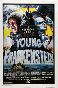 """Young Frankenstein (Universal, 1974). One Sheet (27"""" X 41""""). Mel Brooks' comedy masterpiece spoofs the early F..."""
