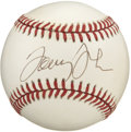 Autographs:Baseballs, Tommy John Single Signed Baseball. Amassing 2245 strike-outs duringhis lengthy career, Tommy John is probably best known f...
