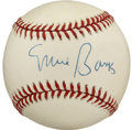 Autographs:Baseballs, Ernie Banks Single Signed Baseball. Having spent his entire majorleague career with the Chicago Cubs, and earning the nick...