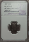 Bust Dimes: , 1827 10C -- Improperly Cleaned -- Details NGC. AU. NGC Census:(9/199). PCGS Population: (16/231). CDN: $560 Whsle. Bid for...