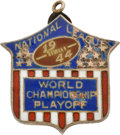 Football Collectibles:Others, 1944 NFL Championship Press Pin (Charm)....