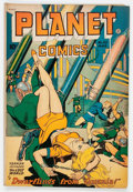 Golden Age (1938-1955):Science Fiction, Planet Comics #53 (Fiction House, 1948) Condition: VG+....