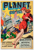 Golden Age (1938-1955):Science Fiction, Planet Comics #57 (Fiction House, 1948) Condition: VG....