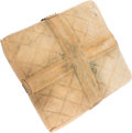 Baseball Collectibles:Others, 1950's Brooklyn Dodgers Base Used at Ebbets Field with Provenance....