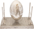 Football Collectibles:Others, Circa 1920's Football Music Box....