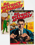 Silver Age (1956-1969):Adventure, Mr. District Attorney #11 and 37 Group (DC, 1949-54) Condition: Average FN/VF.... (Total: 2 Comic Books)