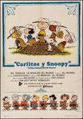 "Movie Posters:Animation, A Boy Named Charlie Brown (Filmax, 1971). First Release Spanish One Sheet (27.5"" X 39.5""). Animation.. ..."