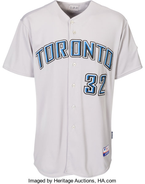 promo code 0b883 4b041 2008 Roy Halladay Game Worn Toronto Blue Jays Jersey ...