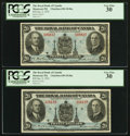 Canadian Currency: , Montreal, PQ- The Royal Bank of Canada $20 Jan. 2, 1935 Ch. # 630-18-06a Two Examples.. ... (Total: 2 notes)