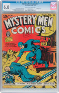 Golden Age (1938-1955):Superhero, Mystery Men Comics #14 (Fox, 1940) CGC FN 6.0 Cream to off-white pages....