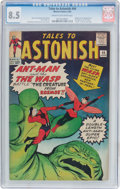 Silver Age (1956-1969):Superhero, Tales to Astonish #44 (Marvel, 1963) CGC VF+ 8.5 Cream to off-whitepages....