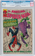 Silver Age (1956-1969):Superhero, The Amazing Spider-Man #6 (Marvel, 1963) CGC VF+ 8.5 Cream tooff-white pages....