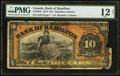 Canadian Currency: , Hamilton, ON- Bank of Hamilton $10 June 1, 1914 Ch. # 345-20-10....