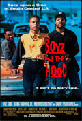 "Movie Posters:Black Films, Boyz N the Hood & Others Lot (Columbia, 1991). One Sheets (3)(27"" X 40"") DS Advance & Trimmed One Sheet (27"" X 39.75"").Bla... (Total: 4 Items)"