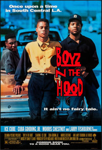 """Boyz N the Hood & Others Lot (Columbia, 1991). One Sheets (3) (27"""" X 40"""") DS Advance & Trimmed..."""