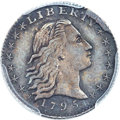 Early Half Dimes, 1795 H10C V-4, LM-10, R.3 -- Cleaning -- PCGS Genuine. AUDetails....