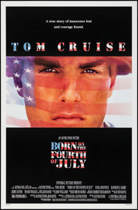"Born on the Fourth of July & Others Lot (Universal, 1989). One Sheets (5) (27"" X 40"", 41"") DS. Wa..."