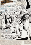 Original Comic Art:Complete Story, Dick Dillin and John Calnan World's Finest #232 Complete18-Page Story Batman and Superman Original Art (DC, 1975)...(Total: 18 Original Art)