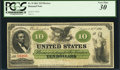 Large Size:Demand Notes, Fr. 8 $10 1861 Demand Note PCGS Very Fine 30.. ...