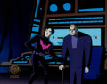 Animation Art:Production Cel, Batman Beyond Production Cel (Warner Brothers, 1999)....