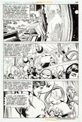 Original Comic Art:Panel Pages, Joe Staton and John Calnan Legion of Super-Heroes #260Partial Story Original Art Group of 8 (DC, 1980).... (Total: 8Original Art)